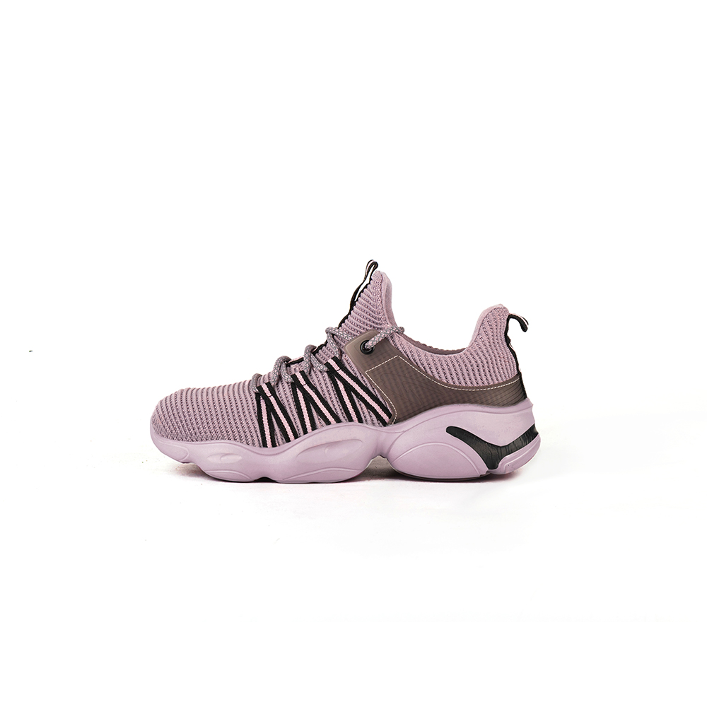 Flying 810 Pink Safety Trainers Shoes
